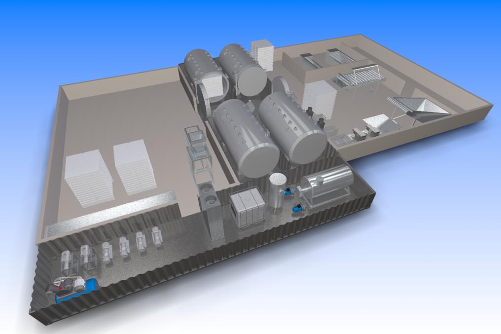 KSVI 4K 10 - Комплекс сушильный вакуумно-импульсный - КСВИ