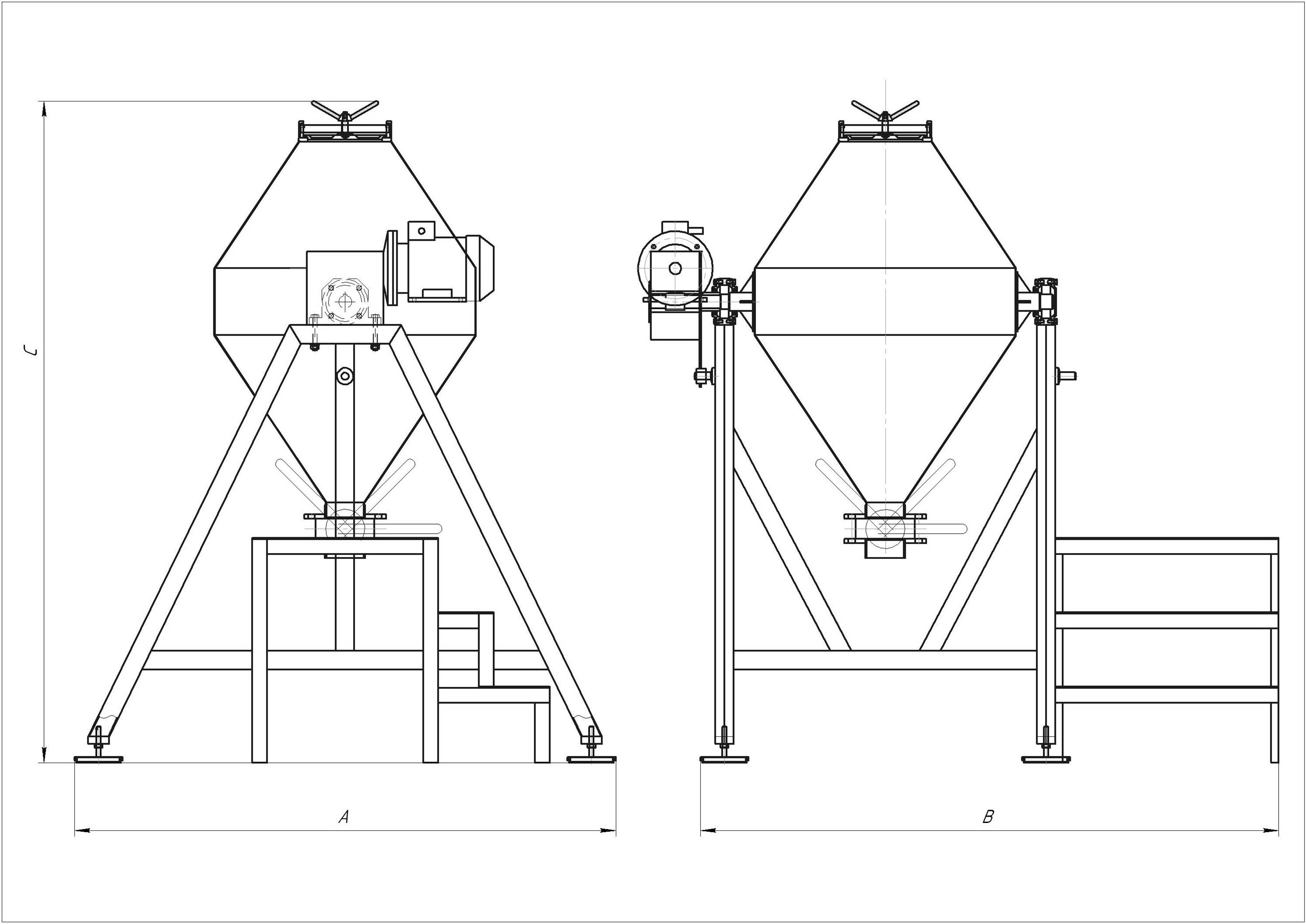 Risunok12 - Смеситель биконический ССПБ